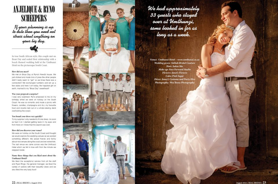 Real Brides Wedding Feature | Woz'Bona